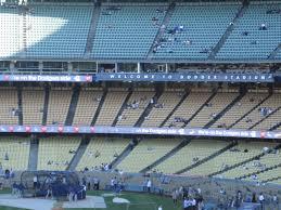 Dodger Stadium Parking Map Dodger Stadium Loge Level Infield Baseball Seating
