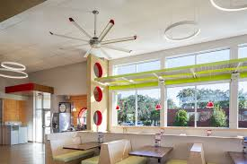 large silent ceiling fans and lights for bars and restaurants