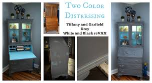 two color distressing shabby paints