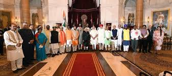 State Of The Union Cabinet Member Not Attending Modi Cabinet Expansion Live Javadekar Elevated 19 Sworn In As