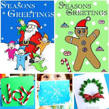 30 christmas cards for kids to make