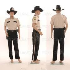 walking dead costumes for halloween the walking dead season 4 sheriff rick grimes costume tailored