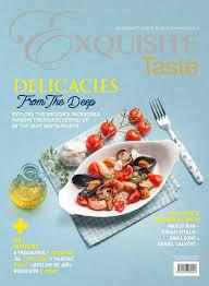 magasine de cuisine exquisite taste magazine february march 2017 gramedia digital