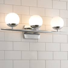 Bathroom Globe Lights Linear Globe Bath Light 4 Light Shades Of Light