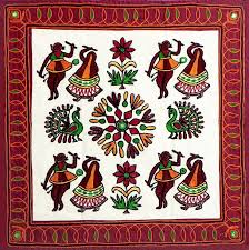 Best Embroidery Art From India Images On Pinterest Embroidery - Indian wall hanging designs