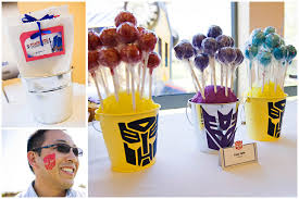 transformers party transformers birthday party pizzazzerie