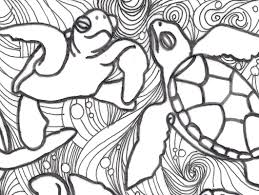 sea turtle free coloring pages on art coloring pages