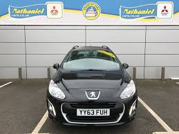 city peugeot used cars used peugeot 308 hdi sw access black 1 6 estate bridgend