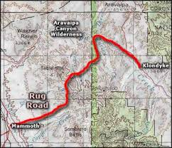 Arizona Rug Rug Road Scenic Historic And Backcountry Byways In Arizona
