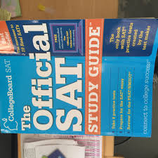 the official sat study guide text only 1st first edition by