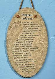 footprints in the sand gifts footprints in the sand wall plaque booksofthebible