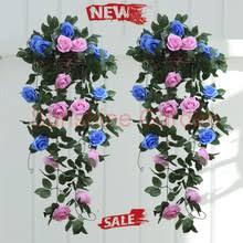 Blue Flower Vine - popular blue flower vine buy cheap blue flower vine lots from