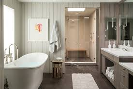 amazing white baseboard bathroom transitional with tongue and