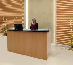High End Reception Desks Small Curved Reception Desk High End For Residence