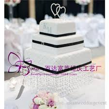 acrylic cake stands wedding acrylic cake stand 16 inches square cake display