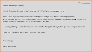 how to make a resignation letter bio example