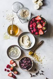 hibiscus berry smoothie bowls gluten free vegan u2022 the bojon gourmet