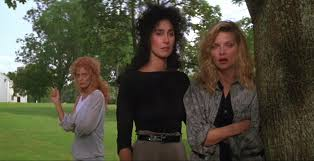 susan sarandon cher and pfeiffer in the witches of