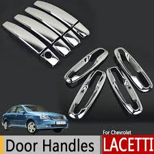 Chrome Exterior Door Handles Chrome Exterior Door Handles Covers For Chevrolet Lacetti Optra