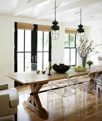 modern wooden chairs for dining table 23 best farmhouse tables paired with modern chairs images on