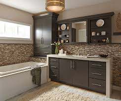 wall vanity mirror cabinet with installed mirror kemper