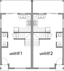 house plans small lot duplex house plans narrow lot home deco plans