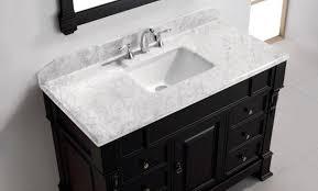 Double Sink Vanity 48 Inches Blue Pearl Granite 48 Inch Double Sink Vanity U2014 New Interior
