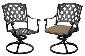 innovative aluminum swivel patio chairs swivel rocker chairs