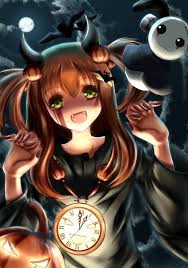 happy halloween anime art halloween costume devil