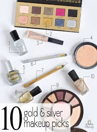 top 10 tuesday the best gold and silver makeup 15 minute beauty