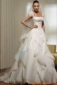 robe de mari e original robe de mariée originale organza avec manches ballons
