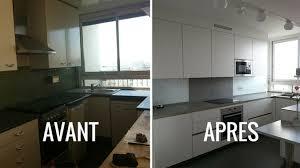 moderniser une cuisine plan cuisine en longueur 13 avant apr232s epurer et moderniser