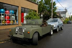 range rover pickup old parked cars 1957 land rover series i custom