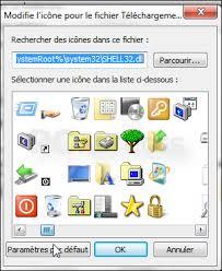 icone bureau gratuit changer l icône d un dossier windows 7