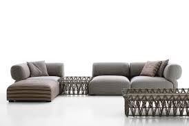 modular sofa contemporary outdoor fabric butterfly b u0026b