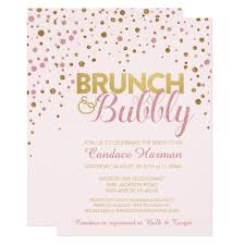 bridal shower invitations brunch brunch bubbly glitter bridal shower invitation zazzle
