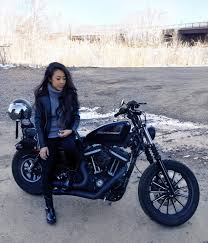 women s cruiser motorcycle boots thejenini geared up to start riding in harley davidson footwear