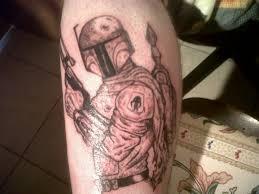 boba fett tattoo by homicidalrod on deviantart
