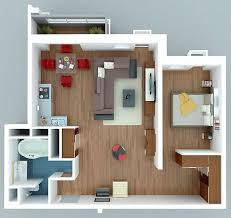Top  Best Small Apartment Plans Ideas On Pinterest Studio - One bedroom design