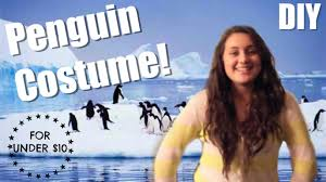 penguin costume halloween how to make a penguin costume youtube