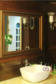 Framed Mirrors For Bathroom Custom Framed Mirror Bathroom Mirrors Framed Bathroom Mirrors