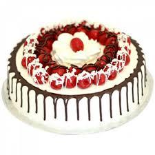 cherry black forest cake 1 kg