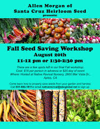 harvest seeds and native plants upcoming events u2014 native revival nursery