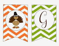 free printable thanksgiving banners happy thanksgiving