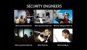 It Security Meme - life of security engineer in big and small companies differences