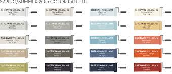 color palettes for spring 2015