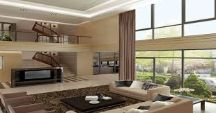 Curtains For Large Windows by Modern Living Room Curtains 25 Brown Living Room Design Ideas
