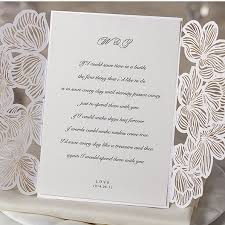 invitation kits h d vintage flower laser cut simple wedding invitation kits 60pc