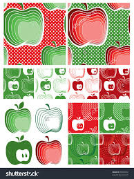 interior items for home modern apple seamless vector patterns use to create items for home