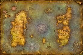 kalimdor map mansridgoldwoh of warcraft map kalimdor